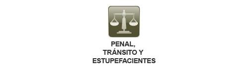 Sector Penal, Tránsito y Estupefacientes