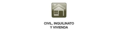 Sector Civil, Inquilinato y Vivienda