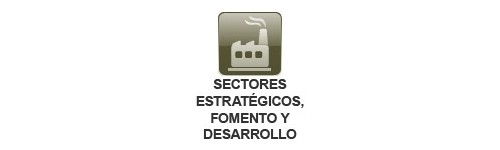 Sectores Estratégicos, Desarrollo y Fomento