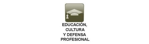Sector Educación, Cultura y Defensa Profesional