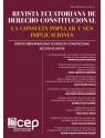 Revista Ecuatoriana de Derecho Constitucional. La Consulta Popular y sus Implicaciones