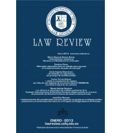Revista de Universidad San Francisco de Quito Law Review Volumen I número I