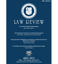 Revista de Universidad San Francisco de Quito Law Review Volumen I número 2