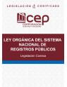 Ley Orgánica del Sistema Nacional de Registros Públicos